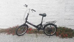 Bicicleta dobrável usada