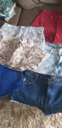 Lote de shorts DESAPEGO 42 e 44 zap *