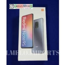 Xiaomi Redmi Note 9s 64GB | Lacrado | Azul Pronta Entrega em ATÉ 10x sem juros no cartão