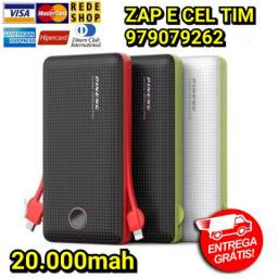 Power Bank Pineng Slim Bateria Externa De 20000mah