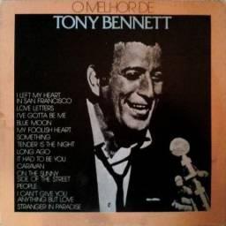 "Lp vinil de Tony Bennett ""O melhor de Tony Bennett"""