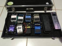 Set pedais guitarra
