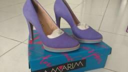 Sapato Ramarim em couro n.36 novo