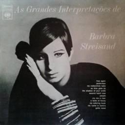 LP Vinil Barbra Streisand As Grandes Interpretações de Barbra Streisand, Ótimo estado