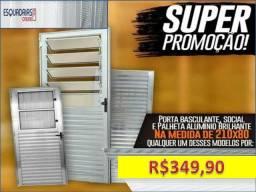 Super promoção de portas e janelas novas recebemos na entrega