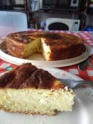 Torta de queijo da vovó