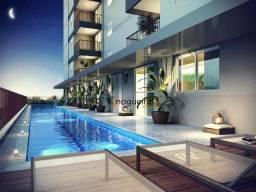 Apartamento com 1 dormitório para alugar, 41 m² por R$ 2.700,00/mês - Brooklin - São Paulo