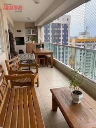 Apartamento com 3 dormitórios à venda, 157 m² por R$ 1.193.000 - Jardim Aquarius - São Jos