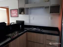 Apartamento Mobiliado com 2 Quartos para alugar no Residencial Ana ll por R$1350,00 - Rua