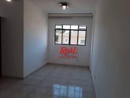Apartamento com 2 dormitórios para alugar, 64 m² por R$ 1.900,00/mês - Embaré - Santos/SP