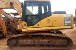 Escavadeira hidráulica komatsu pc 160
