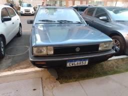 Santana 1987 1.8 gasolina gls completo terceiro dono coleção