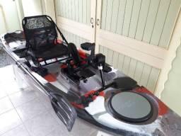 Caiaque Leader Power Drive (Com pedal e carrinho)
