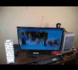 TV 32 polegadas,Tela duplicada