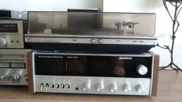 Receiver Gradiente e Toca Discos Philips