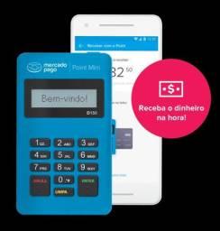 Maquininha máquina de cartão point mini Mercado Pago