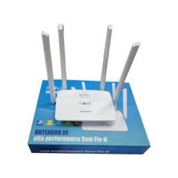 Roteador 4 antenas de longo alcance