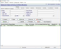 Ordem de serviço para oficina mecanica sem mensalidade