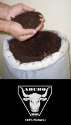 Adubo (estrume de boi) 100% natural
