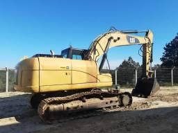 Vendo escavadeira hidráulica Cat 320D ano 2011
