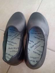 Calçado profissional antiderrapante ( sapato antimicrobiano)