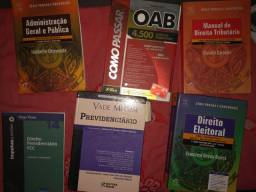 Vendo livros de direito