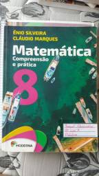 Livros de matemática Moderna 4° e 6° edições usados