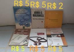 Livro diversos (Redação, auto-ajuda e administração)