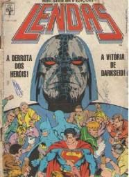 """Combo """"2 em 1"""" - Lendas - 2 quadrinhos DC - @. 1 e 6"""