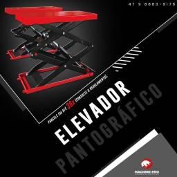 Equipamento Novo   Elevador Automotivo Pantográfico Machine-Pro
