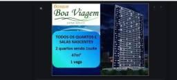Vendo apartamento dois quartos 1 suíte 48m2 Boa Viagem 296.000