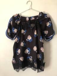 Conjunto de shorts e blusa de alcinha M Morena Rosa