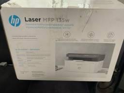 Impressora hp laser multifuncional 135w