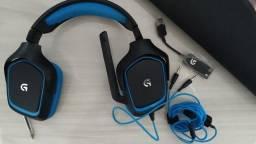 Headset Logitech G430 7.1