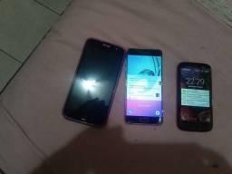 Vendo três celulares moto G5 plus,moto G1, Samsung A5 2016