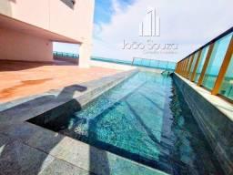BR_H - Lindo apartamento na beira mar de Casa Caiada com 95m² - Estação Marcos Freire