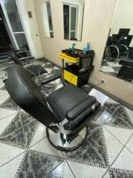 Cadeira de barbeiro D.h oster