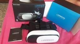 Óculos de realidade virtual novo na caixa!