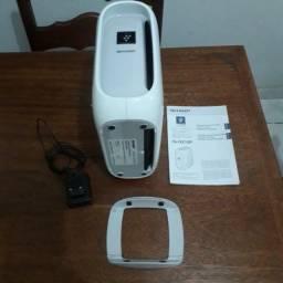 Purificador e Ionizador de Ar Sharp Portátil mod Ig-DX10PW Bivolt