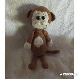 Amigurumi macaco
