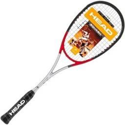 Raquete Squash Head TI 140 gramas Nova