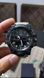 SMAEL Top Marca Relógio Masculino Digital Moda Casual Eletrônico Impermeável Esporte