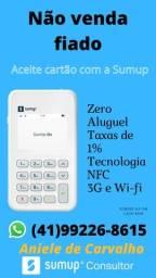 Máquina de Cartão com NFC Sumup
