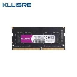 Memória Kllisre DDR4 8 GB, 2666 mhz, NOVA, Lacrada, Para Notebook