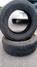 Par de pneus 195/65 Roda 15 premiorri semi novos