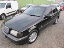 mercedes c180 classic 1.8 aut 4cc completa 1998 impecavel