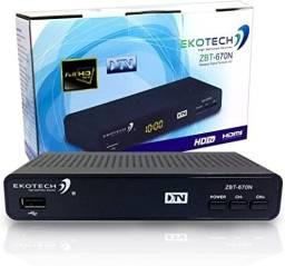 Conversor Digital Receptor Multímidia P/ Tv Tubo Led Plasma