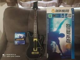 Guitarra + Jogo + Pen Drive PS4