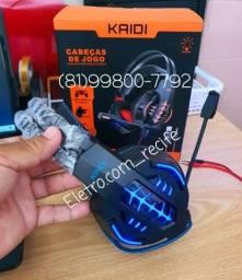 Headset Gamer kaidi Original ENTREGA GRÁTIS