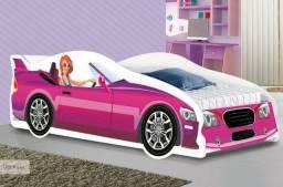 Cama Juvenil GT Rosa - Última Peça! Nova!
